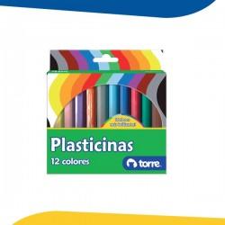 PLASTICINA 12 COLORES...