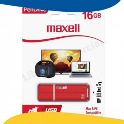 PEN DRIVE 16GB USB MAXELL