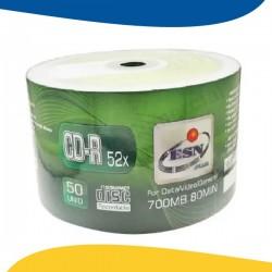 PACK 50 CD-R 52X 700MB ESN...
