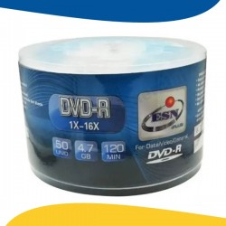 PACK 50 DVD-R ESN PLUS