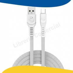 CABLE MICRO USB 2.4A BLANCO...