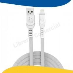 CABLE MICRO USB 2.4A BLANCO...