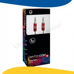 CABLE AUDIO 3.5 A 3.5 ROJO...